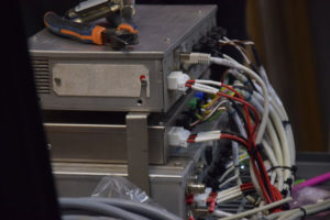 Intégration et préparation câblage platine SAEIV