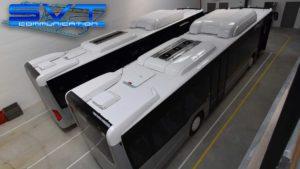 SVT communication - Préparation Bus en atelier