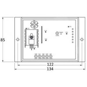 Récepteur Sesaly 24VDC 4 zones pour bouton sans fil BM420